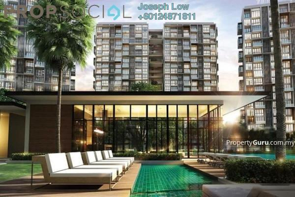 Condominium For Rent in The Parque Residences @ Eco Sanctuary, Telok Panglima Garang Freehold Fully Furnished 2R/0B 1.8k