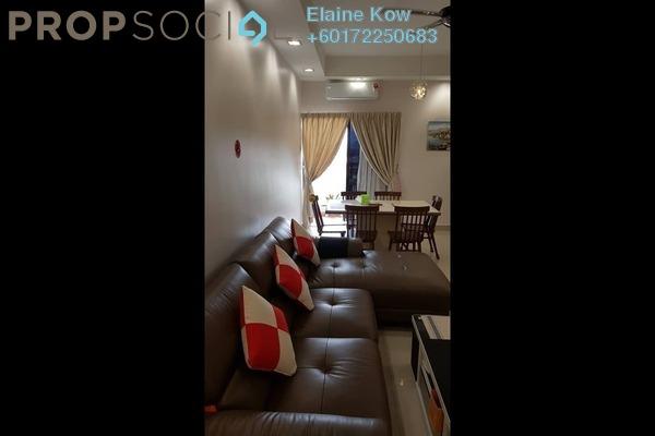 Condominium For Sale in Pelangi Utama, Bandar Utama Freehold Semi Furnished 3R/2B 585k