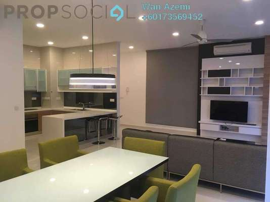 Condominium For Sale in Mirage Residence, KLCC Freehold Fully Furnished 3R/3B 2m