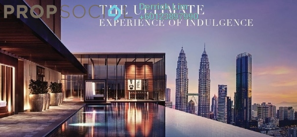 Condominium For Sale in Core Residence @ TRX, Bukit Bintang Freehold Semi Furnished 2R/2B 1.87m