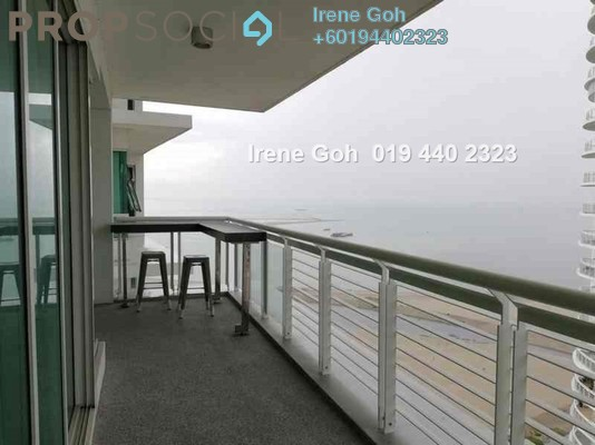 Condominium For Rent in Gurney Paragon, Gurney Drive Freehold Fully Furnished 3R/3B 7.5k