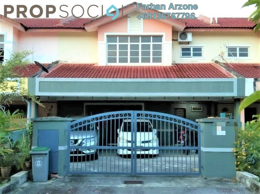 Terrace For Sale in Taman Sri Pulai, Seremban Freehold Semi Furnished 4R/3B 410k