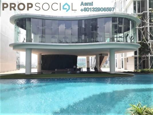 Condominium For Sale in H2O Residences, Ara Damansara Freehold Semi Furnished 1R/1B 420k