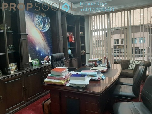 Office For Sale in Boulevard Business Park, Jalan Ipoh Freehold Fully Furnished 0R/0B 710k