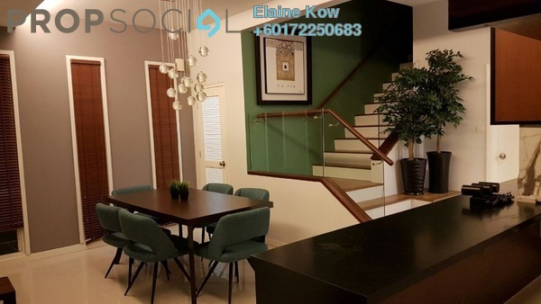 Townhouse For Rent in Challis Damansara, Sunway Damansara Freehold Fully Furnished 3R/3B 4.5k