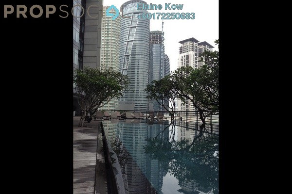 SoHo/Studio For Rent in The Troika, KLCC Freehold Semi Furnished 1R/1B 6.5k