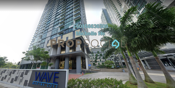 Serviced Residence For Sale in Marina Cove, Johor Bahru Freehold Unfurnished 3R/2B 528k