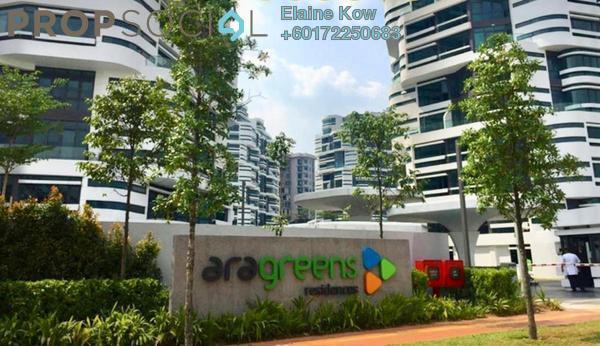 Condominium For Sale in AraGreens Residences, Ara Damansara Freehold Semi Furnished 4R/4B 1.45m