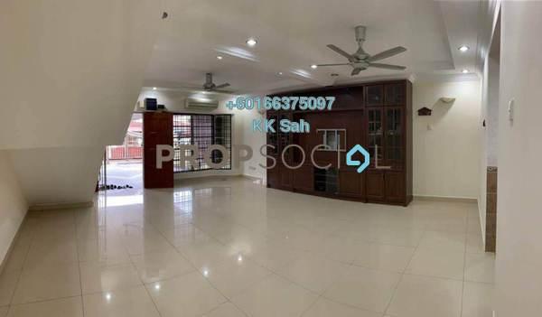 Terrace For Sale in Taman Segar Perdana, Cheras Leasehold Semi Furnished 4R/3B 750k