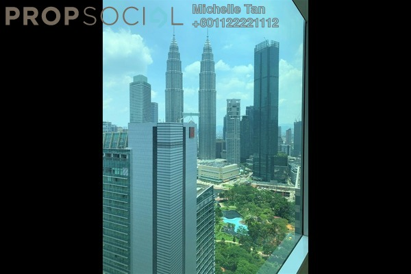Serviced Residence For Rent in Quadro Residences, KLCC Freehold Semi Furnished 4R/3B 9k