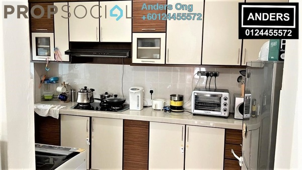 Condominium For Sale in Alpine Tower, Bukit Jambul Freehold Fully Furnished 3R/2B 450k