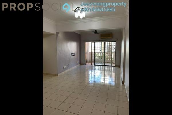 Apartment For Rent in Sri Bayu Apartment, Bandar Puchong Jaya Freehold Semi Furnished 3R/2B 1.2k