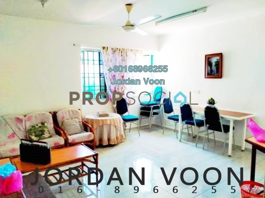 Apartment For Rent in Taman Pekaka, Sungai Dua Freehold Fully Furnished 3R/5B 1k