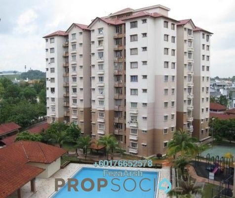 Condominium For Rent in Elaeis 2, Bukit Jelutong Freehold Fully Furnished 3R/2B 1.5k