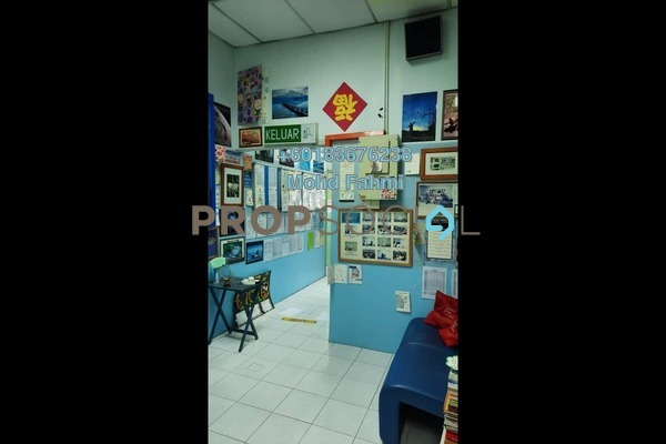 Shop For Sale in Taman Midah, Cheras Freehold Semi Furnished 0R/0B 641k