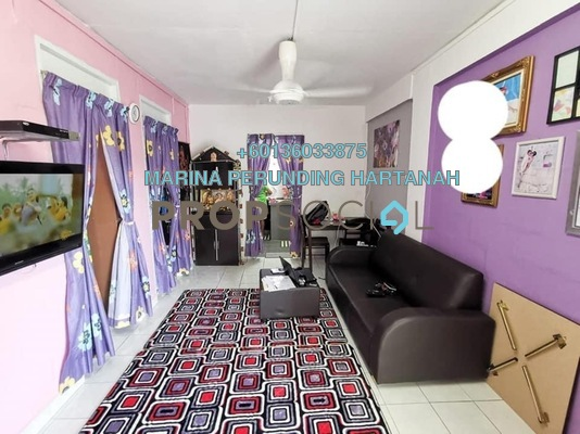 Apartment For Sale in Section 1, Wangsa Maju Freehold Semi Furnished 2R/1B 260k