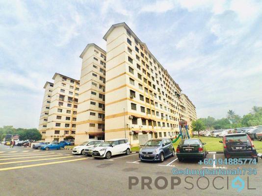 Apartment For Sale in Sri Tanjung Apartment, Bandar Puchong Jaya Freehold Unfurnished 3R/2B 218k