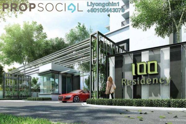 Condominium For Rent in 100 Residency, Setapak Freehold Semi Furnished 4R/3B 2.7k