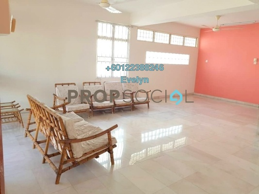 Terrace For Rent in Section 17, Petaling Jaya Freehold Semi Furnished 4R/3B 2.5k