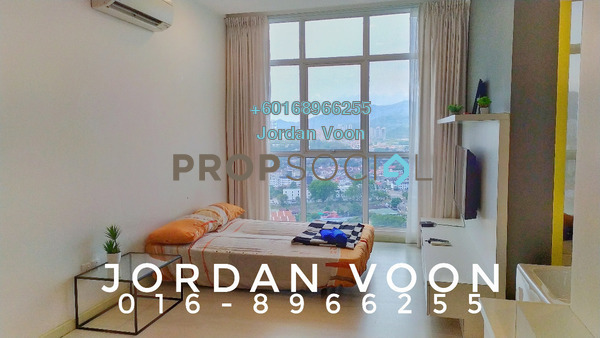 Serviced Residence For Rent in Straits Garden, Jelutong Freehold Fully Furnished 2R/1B 2k