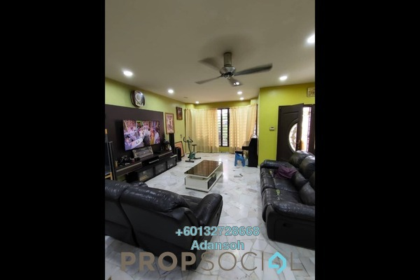 Terrace For Sale in Taman Bukit Maluri, Kepong Freehold Semi Furnished 4R/3B 860k
