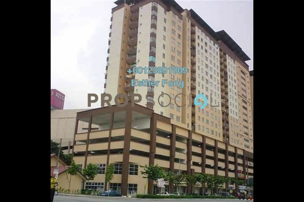 Apartment For Rent in Plaza Metro Prima, Kepong Freehold Semi Furnished 3R/2B 1k