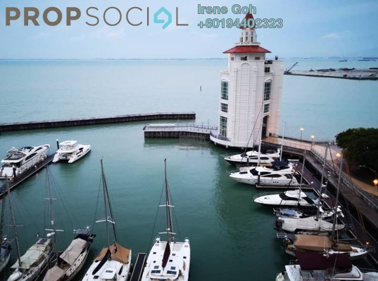 Condominium For Sale in Straits Quay, Seri Tanjung Pinang Freehold Fully Furnished 2R/3B 1.7m