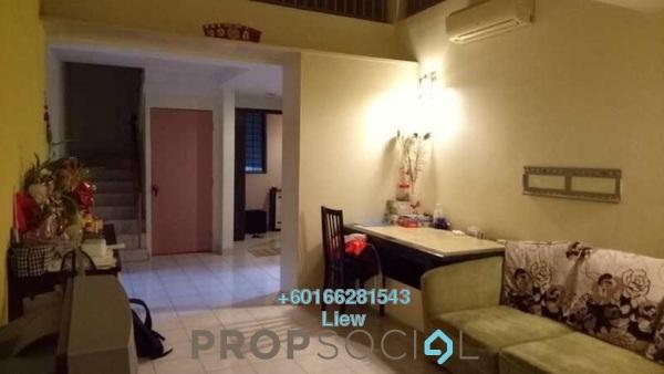 Duplex For Sale in Mentari Condominium, Bandar Sri Permaisuri Freehold Semi Furnished 4R/3B 578k