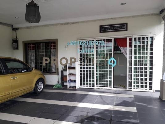Terrace For Sale in Taman Rumpun Bahagia, Melaka Freehold Semi Furnished 3R/2B 600k