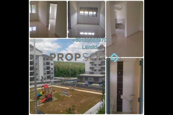 Apartment For Sale in Taman Puncak Rasah Apartment, Seremban 2 Freehold Semi Furnished 3R/2B 195k