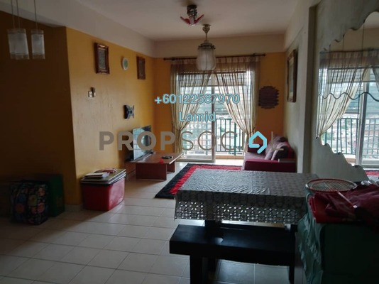 Apartment For Sale in Saujana Gombak Apartment, Batu Caves Freehold Semi Furnished 3R/2B 308k
