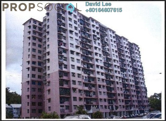 Apartment For Sale in Mutiara Perdana 2, Sungai Ara Freehold Semi Furnished 2R/1B 158k