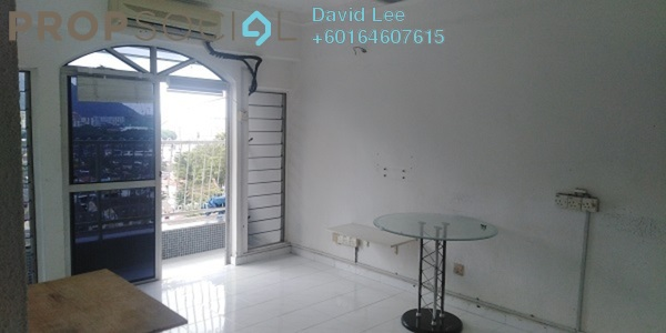 Apartment For Sale in Desa Delima, Georgetown Freehold Semi Furnished 3R/2B 210k