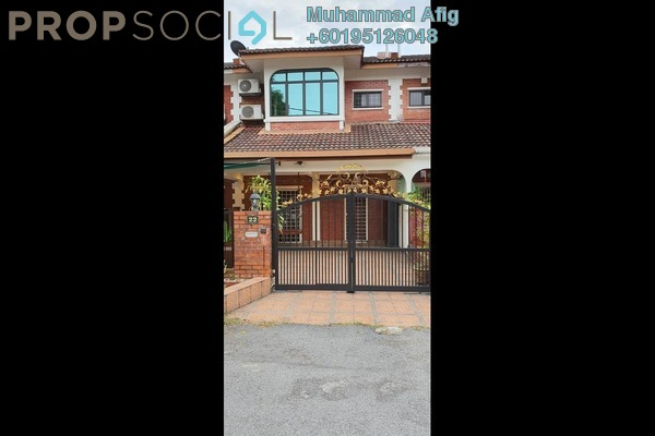 Terrace For Sale in Sejati Hill Villa, Bandar Sungai Long Freehold Semi Furnished 4R/3B 605k