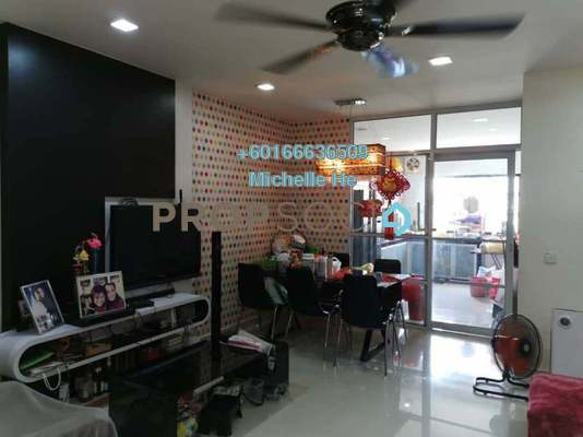 Terrace For Sale in Taman Setia Indah, Johor Bahru Freehold Semi Furnished 4R/4B 650k