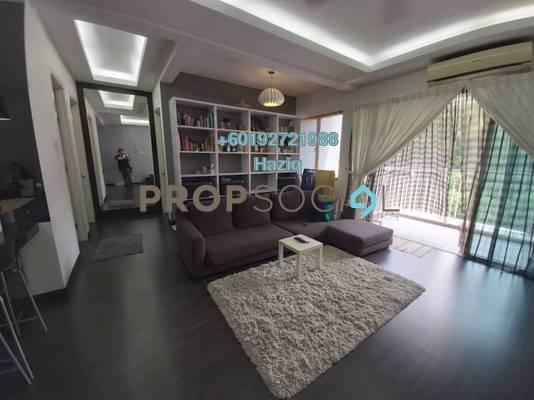 Condominium For Sale in 3 Residen, Melawati Freehold Fully Furnished 2R/2B 600k