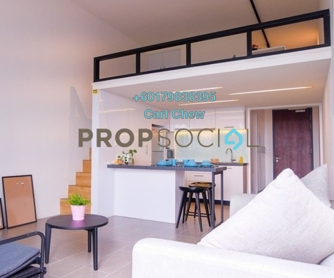 Duplex For Rent in The Establishment, Brickfields Freehold Fully Furnished 1R/1B 2.6k