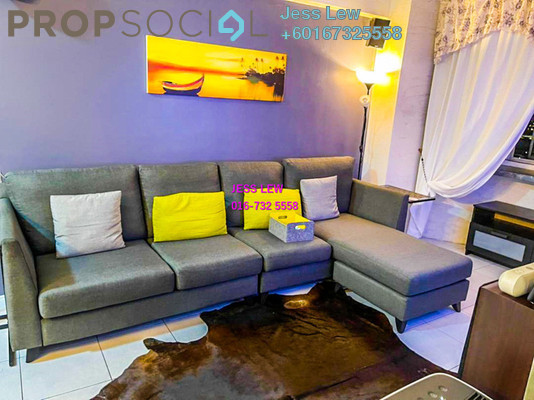 Serviced Residence For Rent in Main Place Residence, UEP Subang Jaya Freehold Semi Furnished 3R/2B 1.6k