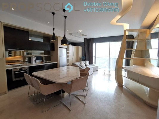 Condominium For Sale in VERVE Suites, Mont Kiara Freehold Fully Furnished 2R/2B 1m