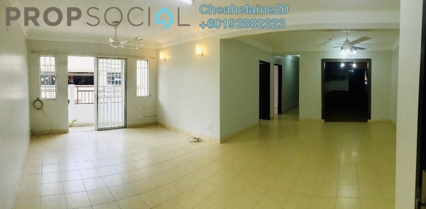 Condominium For Sale in Plaza Metro Prima, Kepong Freehold Semi Furnished 4R/2B 450k