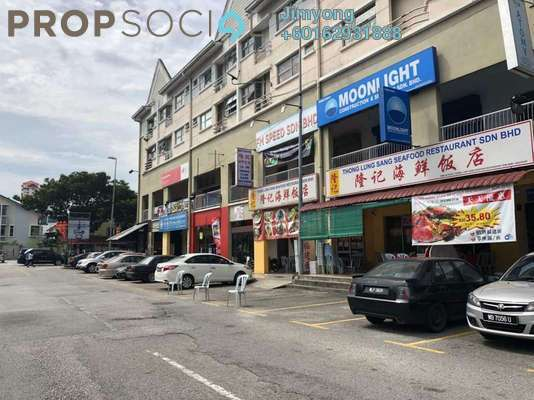 Shop For Rent in Fortune Court, Kepong Freehold Unfurnished 0R/1B 4.5k
