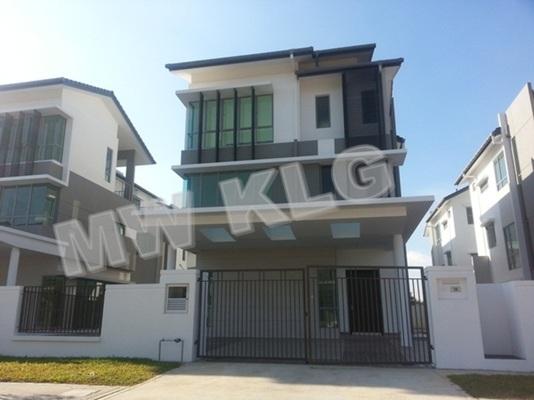 Bungalow For Rent in Ambang Botanic 2, Klang Freehold Unfurnished 5R/5B 5k
