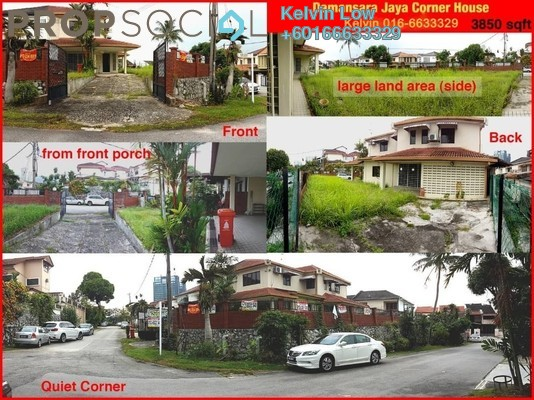 Terrace For Rent in SS22, Damansara Jaya Freehold Semi Furnished 4R/3B 3.5k