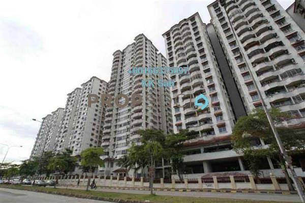 Condominium For Sale in Bukit OUG Condominium, Bukit Jalil Freehold Semi Furnished 1R/1B 275k
