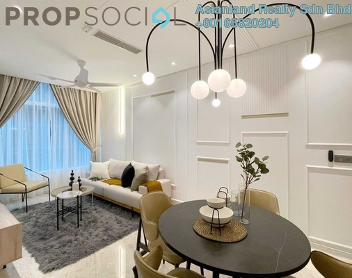 Serviced Residence For Rent in Sky Suites @ KLCC, KLCC Freehold Fully Furnished 3R/2B 4.5k