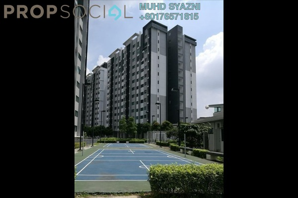 Apartment For Sale in Suria Ixora, Setia Alam Freehold Unfurnished 3R/2B 280k