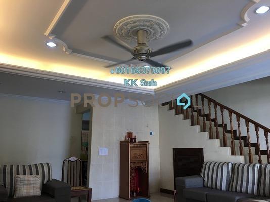 Terrace For Sale in Section 2, Bandar Mahkota Cheras Freehold Semi Furnished 4R/3B 580k