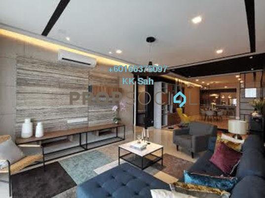 Serviced Residence For Sale in Kampung Baru Salak Selatan, Kuala Lumpur Freehold Fully Furnished 3R/3B 429k
