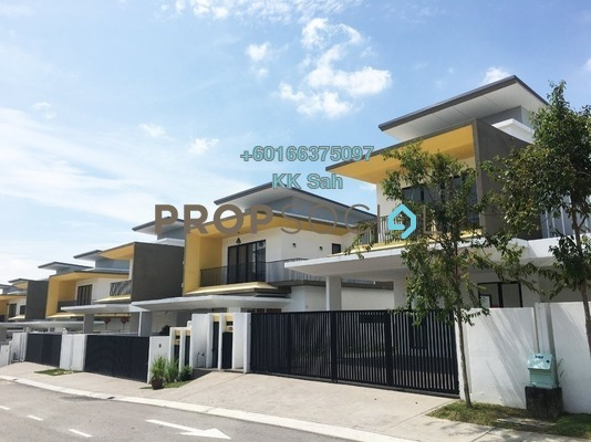 Semi-Detached For Sale in Twin Palms, Bandar Sungai Long Freehold Unfurnished 5R/5B 1.55m