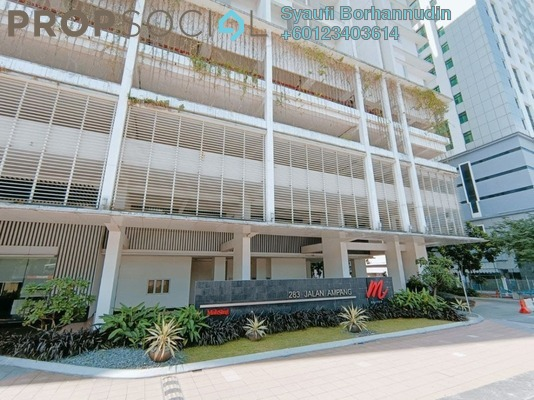 Serviced Residence For Sale in M Suites, Ampang Hilir Freehold Fully Furnished 1R/1B 700k